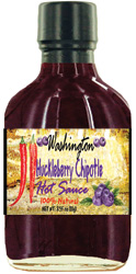 Wild Huckleberry Chipotle Hot Sauce